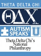 Autism Speaks is Theta Delta Chi's National Philanthropy